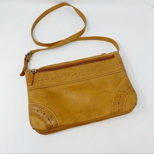 VTG Soft Genuine Leather Crossbody